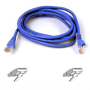 Belkin Blue CAT6 Network Cable -  3M - Blue (A3L980B03M-BLUS)