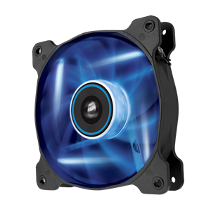 120mm Corsair Air Series Quiet Edition Case Fan Blue LED