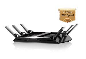 Netgear R8000 NightHawk X6 AC3200 Tri-Band Wi-Fi Router !