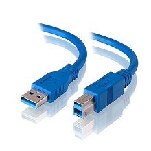 Alogic 1m USB 3.0 Cable - Type A Male to Type B Male