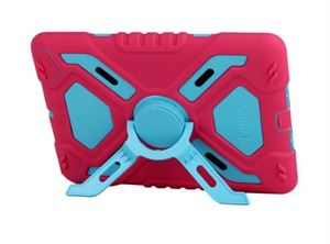 iPad Mini Pepkoo Case - Blue/Pink
