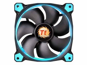 ThermalTake Riing 120mm Blue LED Static Pressure Optimised Case Fan - CL-F038-PL12BU-A