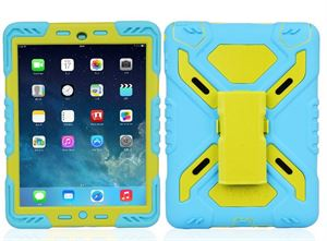 Pepkoo iPad mini 4 Case Blue and Green