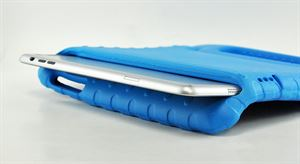 Retina Eva - Thick Foam Cover iPad Mini Case Handle - Blue