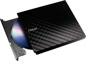 ASUS SDRW-08D2S-U Lite Portable External DVD Writer - Black