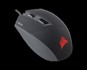 Corsair Katar Gaming Mouse 8000DPI Ambidetrous Backlit - Red