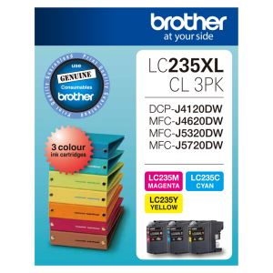 Brother LC-235XLCL3PK
