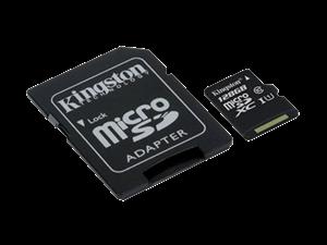 128GB Kingston Micro SDXC UHS-I Class 10