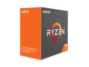 AMD Ryzen 7 1800X 8 Core AM4 CPU (No CPU Cooler) - YD180XBCAEWOF