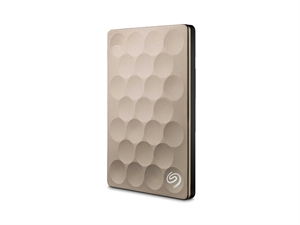 Seagate 1TB BackUp Plus Ultra Slim - Gold