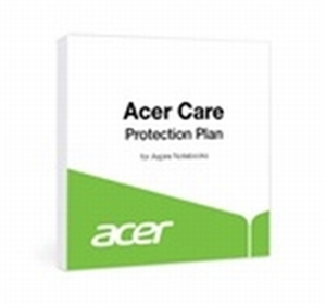 Acer Care Notebook 1 Year to  3 Years Mail-In Warranty (Battery & AC Adaptor 1 Year)