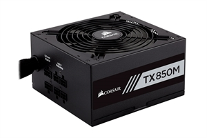 Corsair TX850M Semi-Modular 80+ Gold 850W Power Supply