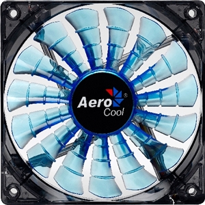 Aerocool Shark Fan 140mm Blue LED Fan