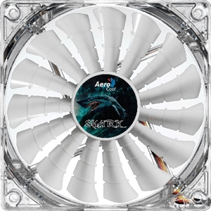 Aerocool Shark Fan 140mm White LED Fan