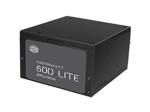 Cooler Master MasterWatt Lite 600W 80+ White Power Supply