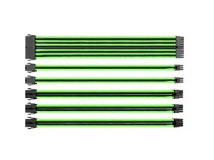 Thermaltake TtMod Sleeve Cable Set - Green/Black