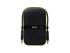 "Silicon Power 2TB Armor A60 2.5"" Portable Hard Drive - Black"