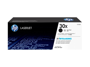 HP 30X High Yield Original LaserJet Toner Cartridge - Black