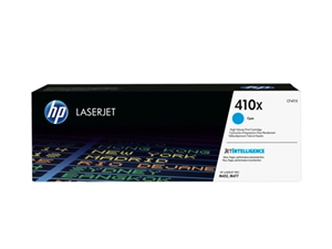 HP 410X High Yield Original LaserJet Toner Cartridge - Cyan