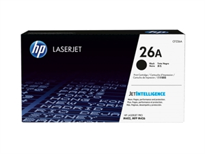 HP 26A Original LaserJet Toner Cartridge - Black