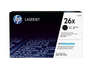 HP 26X High Yield Original LaserJet Toner Cartridge - Black