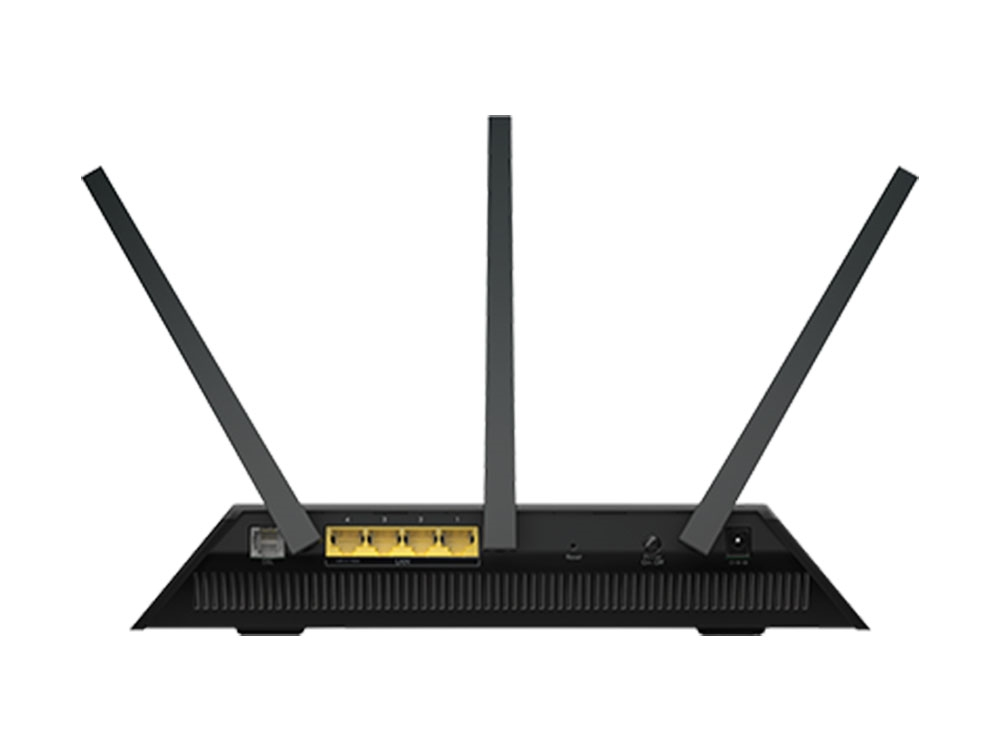how to connect nighthawk router to a modem