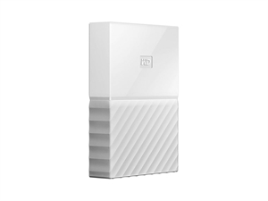 Western Digital 4TB My Passport USB 3.0 Secure Portable Hard Drive - White