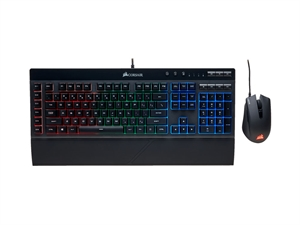 Corsair K55 + Harpoon RGB Keyboard and Mouse Gaming Combo