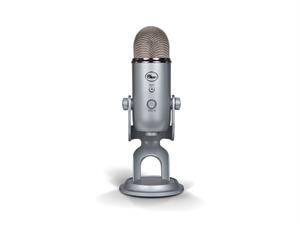 BLUE Yeti 3-Capsule USB Microphone - Silver