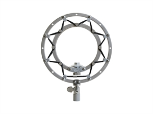 BLUE Ringer Suspension Mount for Snowball Microphones - Silver