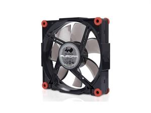 In Win Aurora RGB Black/Red 120mm Fan For Add-On