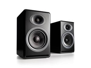 Audioengine P4 Passive Bookshelf Speakers(Pair) - Satin Black