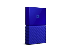 Western Digital WD My Passport 1TB Portable Hard Drive -  Blue