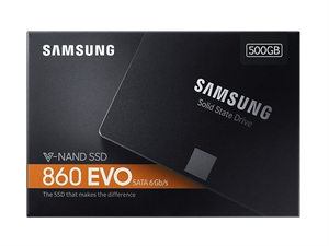 "Samsung 860 EVO 500GB 2.5"" SATA III SSD - MZ-76E500BW"