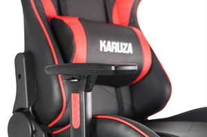 Karuza YX-1216 Gaming Chair - Black/Red