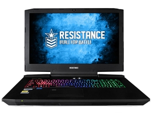 "Resistance VR Fury 17.3"" FHD Intel Core i7-7700K Gaming Laptop"