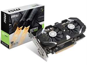 MSI GeForce GTX 1050 2GT 2GB OC Graphics Cards