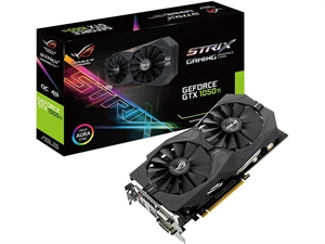 ASUS ROG Strix GeForce GTX 1050 Ti OC Edition Gaming Graphics Card