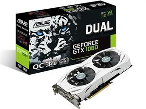 Asus GTX 1060 Dual OC 3GB Graphics Card