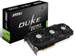 MSI GeForce GTX 1070 Ti DUKE 8GB Graphics Card