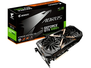 Gigabyte Aorus GeForce GTX 1080 Ti Xtreme Edition 11GB Gaming Graphics Card