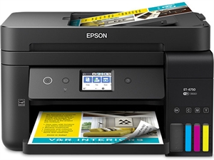 Epson EcoTank ET-4750 Colour All in One Printer