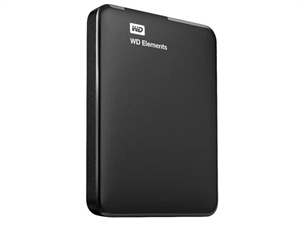 Western Digital WD Elements 3TB Portable Hard Drive