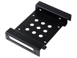 ORICO Aluminum 5.25 inch to 2.5 or 3.5 inch Hard Drive Caddy - Black
