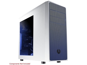 Bitfenix Neos Window Mid Tower Chassis Case - White/Blue