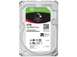 "Seagate Ironwolf Pro 6TB 3.5"" NAS Hard Drive + 2 Years Data Recovery"