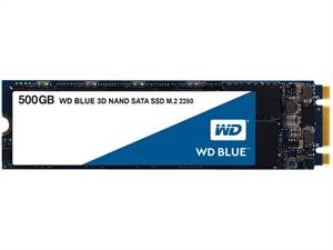 Western Digital WD Blue 500GB 3D NAND M.2 SSD