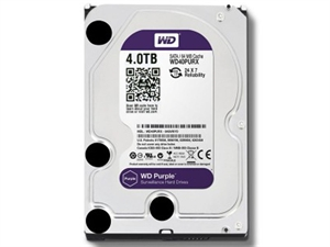 "Western Digital Purple 4TB 3.5"" Internal Hard Drive - WD40PURZ"