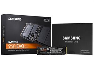 Samsung 960 EVO 250GB M.2 2280 SSD - MZ-V6E250BW