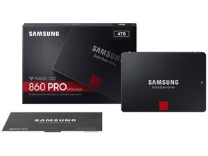 """Samsung 860 Pro 4TB 2.5"""" SATA III SSD - MZ-76P4T0BW"""